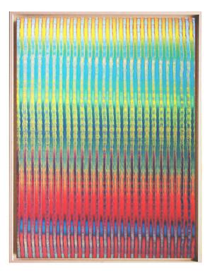 lien05. Format: 92 x 73 cm - Peinture laque  - TTSCPA