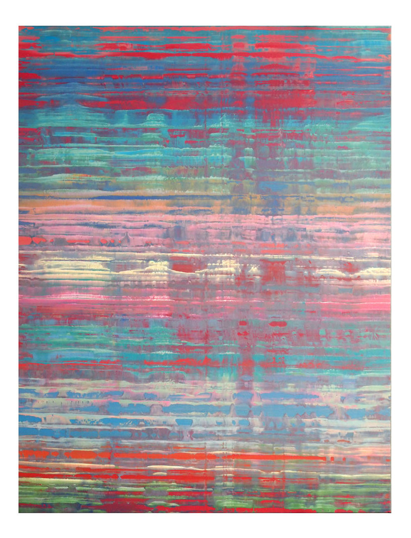 pri-10. Format: 130 x 97 cm - Peinture laque  - TTSCPA