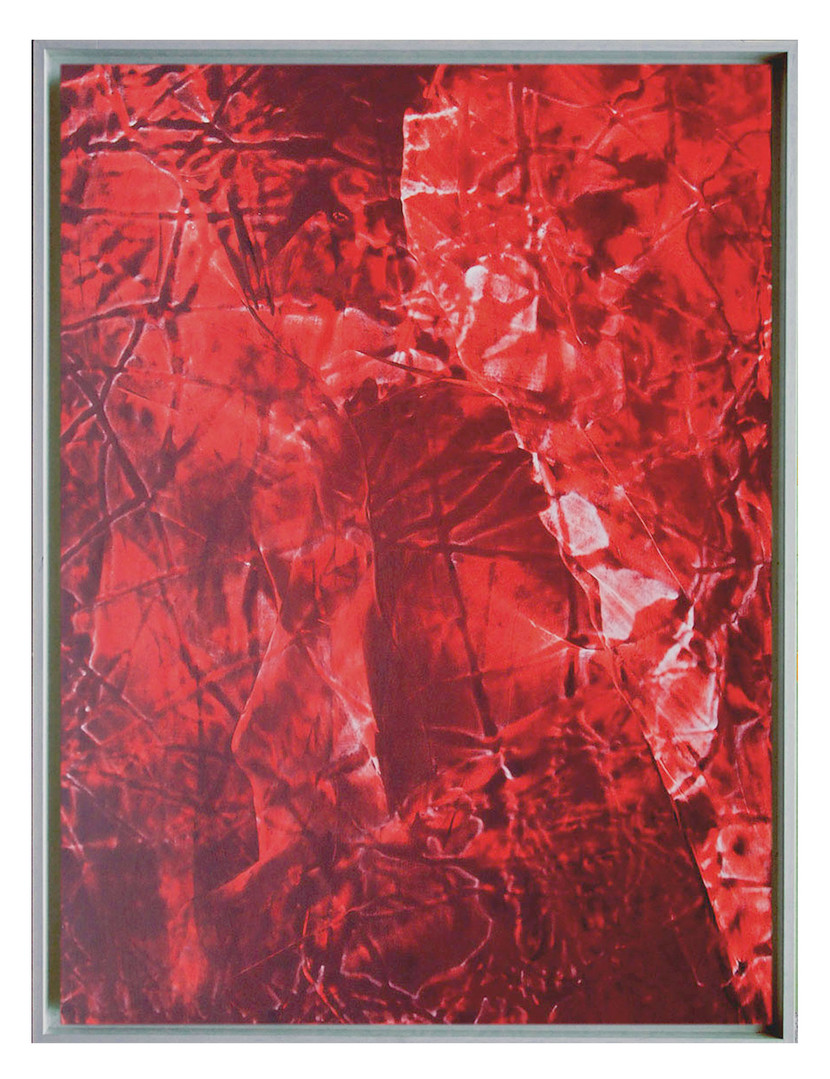 extrait04. Format: 92 x 73 cm - Peinture laque  - TTSCPA