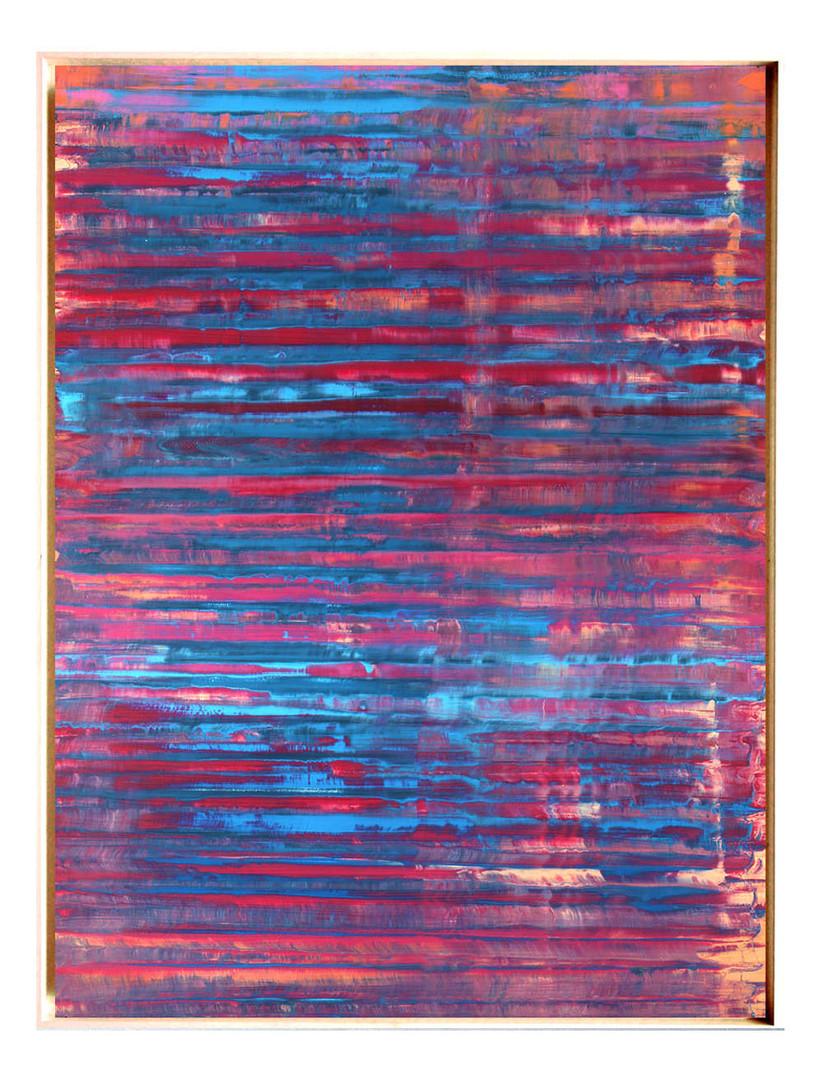 pri-02. Format: 130 x 97 cm - Peinture laque  - TTSCPA