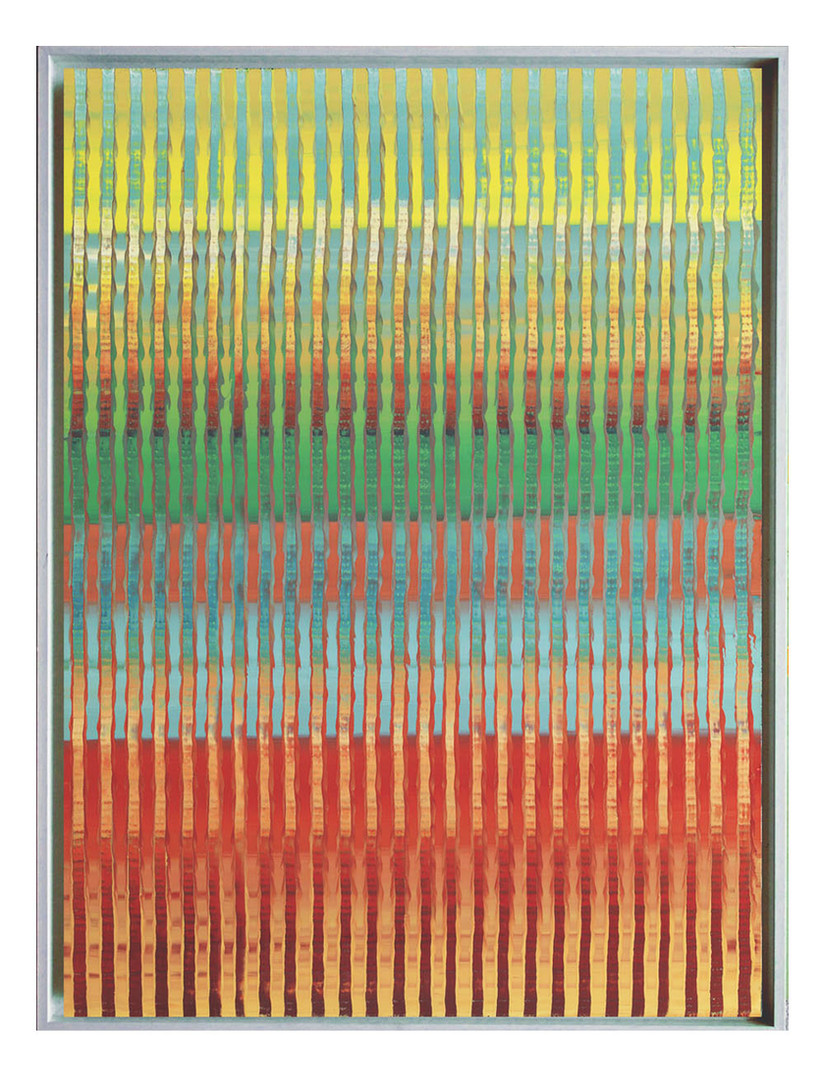 lien11. Format: 92 x 73 cm - Peinture laque  - TTSCPA