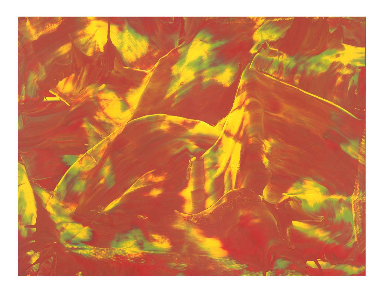 LM-chaos01-60f Format: 130 x 97 cm - Peinture laque  - TTSCPA