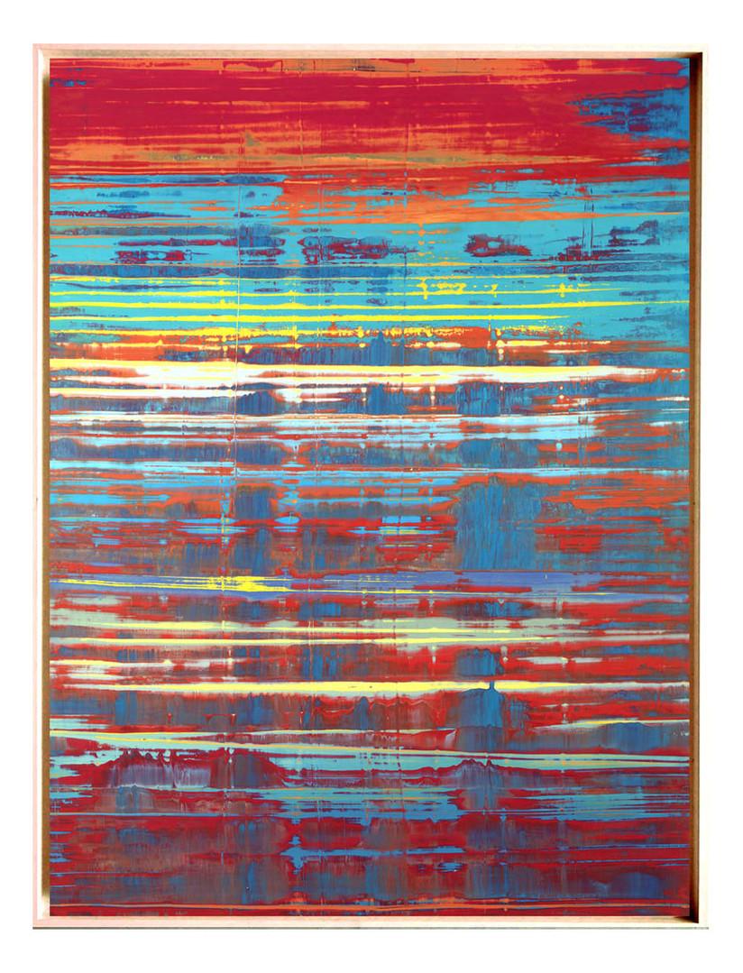 pri-01. Format: 130 x 97 cm - Peinture laque  - TTSCPA