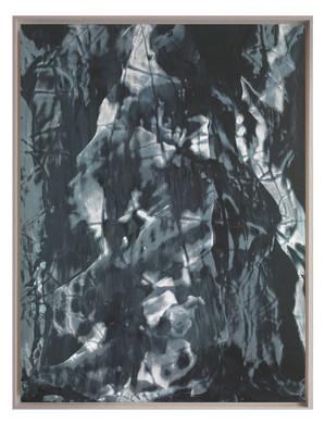 LM-extrait06. Format: 92 x 73 cm - Peinture laque  - TTSCPA