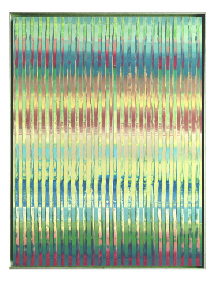 lien-60F-03. Format: 130 x 97 cm - Peinture laque  - TTSCPA