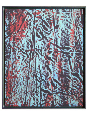 extrait06-12f. Format: 61 x 50 cm - Peinture laque  - TTSCPA