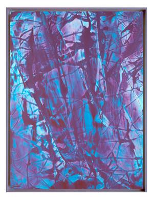 LM-extrait04. Format: 92 x 73 cm - Peinture laque  - TTSCPA
