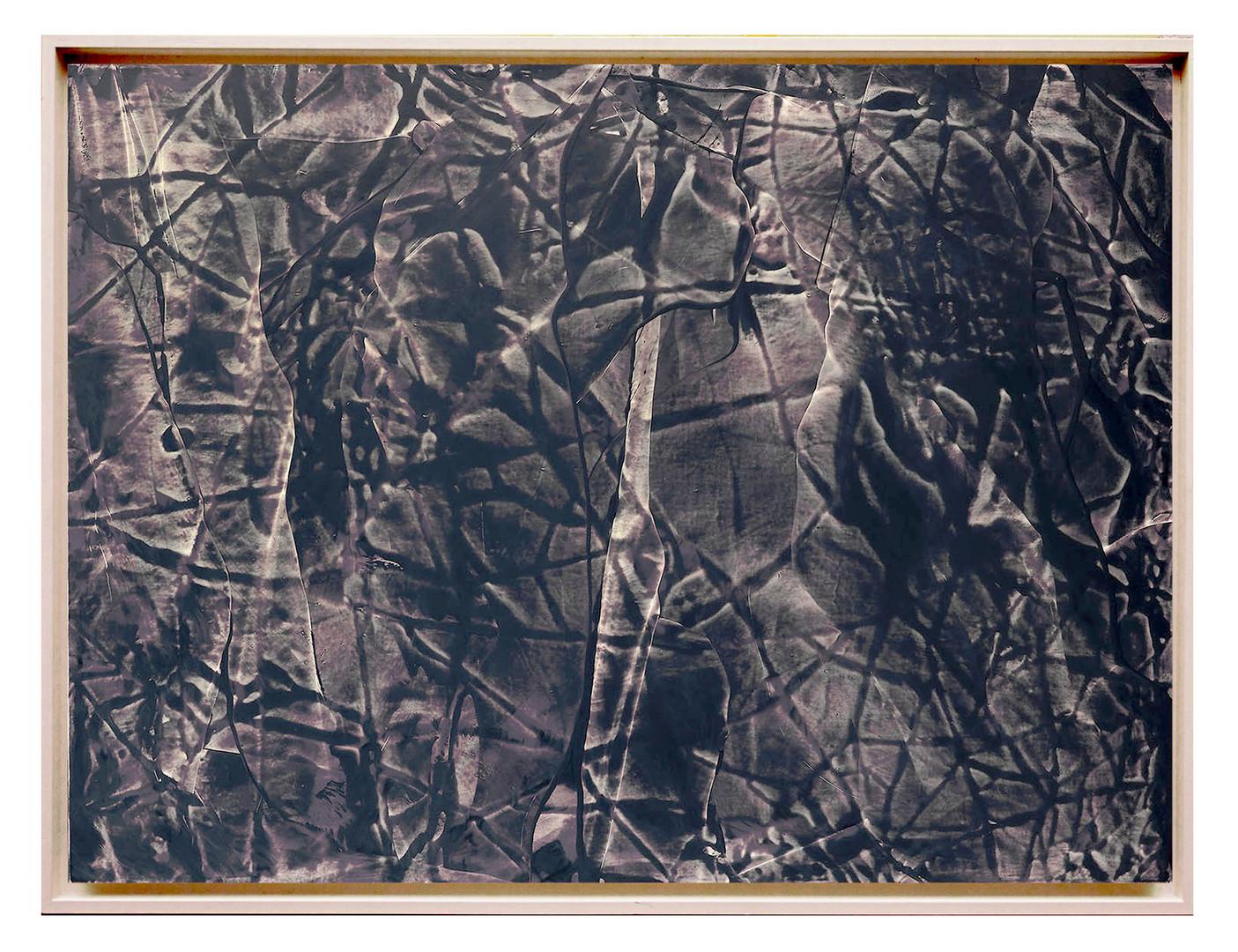 extrait08. Format: 92 x 73 cm - Peinture laque  - TTSCPA