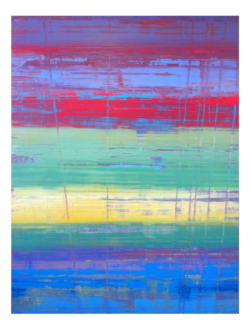 pri-09. Format: 130 x 97 cm - Peinture laque  - TTSCPA