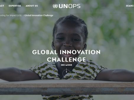 国連が運営する「UNOPSグローバルイノベーションチャレンジ」のトップアプリケーションに選定されました。