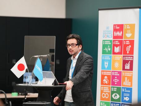 国連プロジェクト・サービスの支援対象となりました