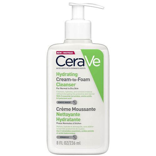 CeraVe Cream to Foam Cleanser