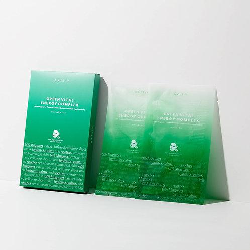 AXIS-Y 61% Mugwort Green Vital Energy Complex Sheet Mask