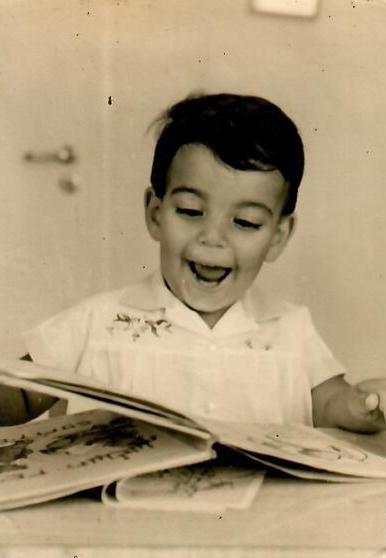 כבר אז אהב ספרים