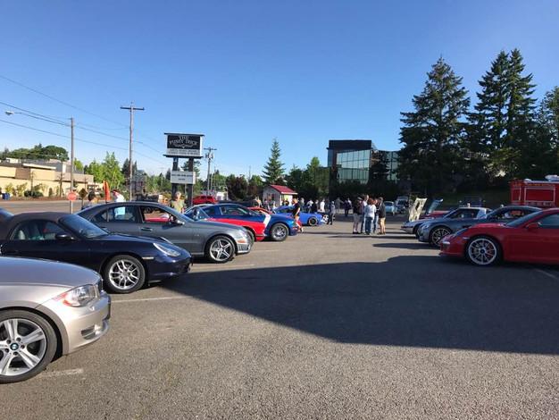 Cars Coffee Society Northwest Solar Eclipse Weekend