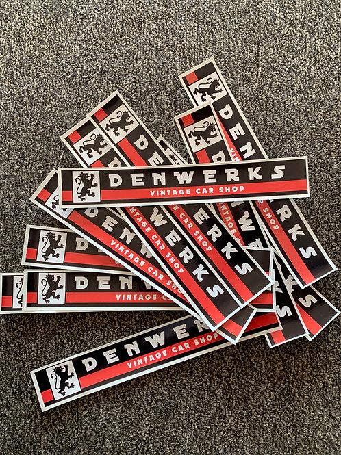 "7"" Denwerks Classic Sticker"