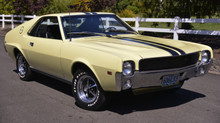 A Piece of Denwerks History -  A Rare Find - 1968 AMC AMX with 16k Miles
