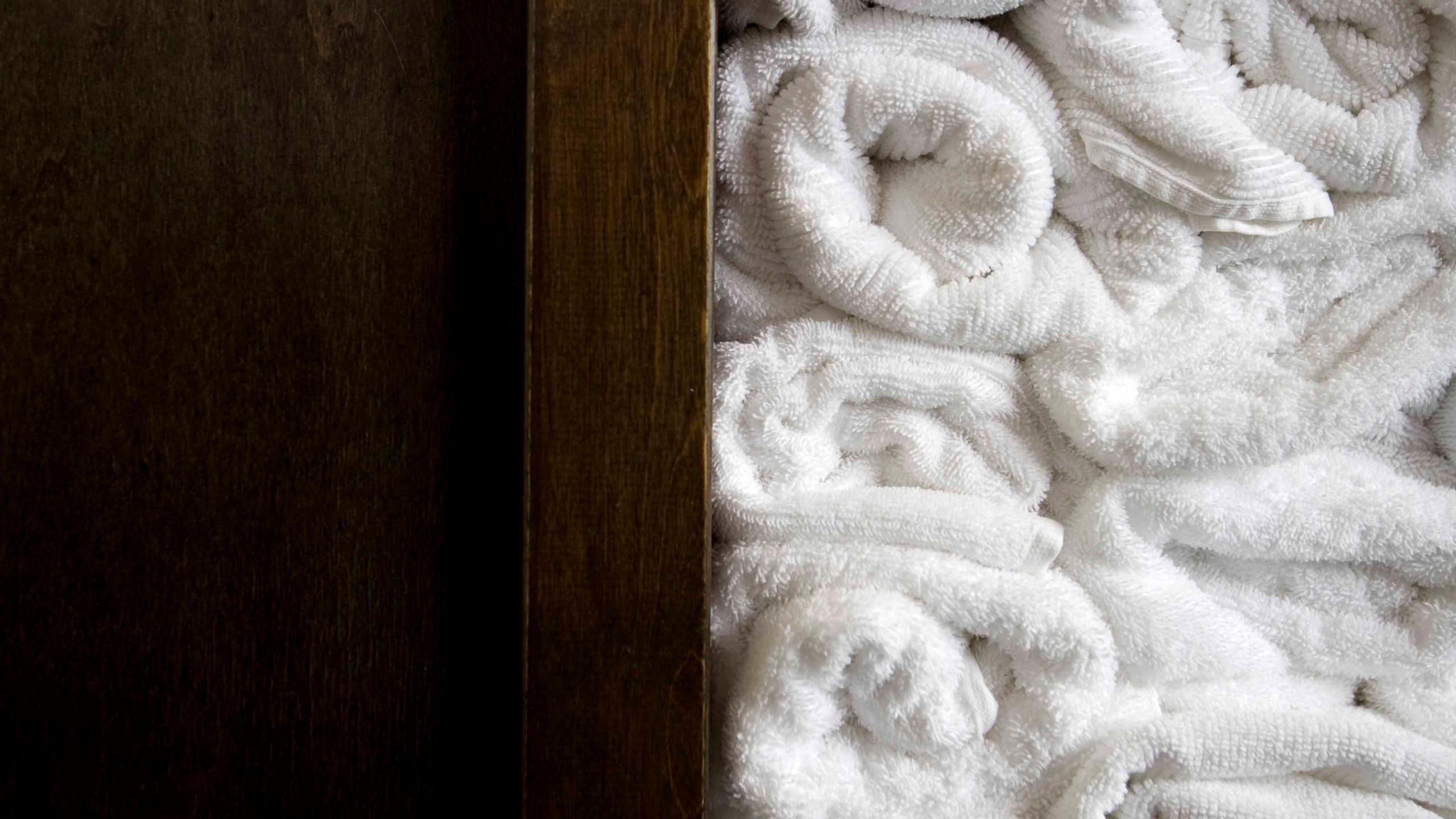 Warme Tücher für den Kuscheleffekt