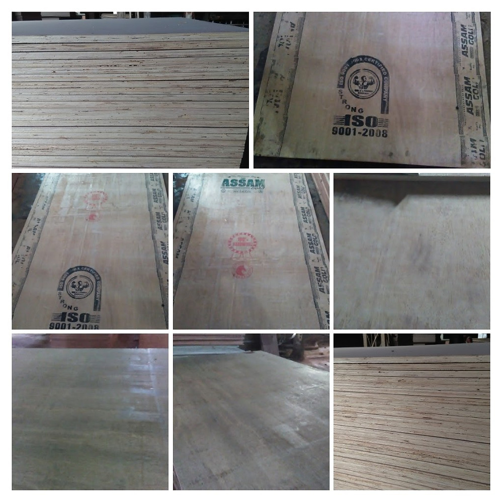 Rubberwood Plywood Sheets
