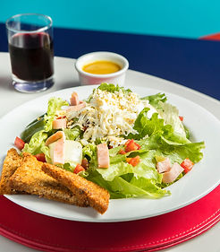 salada, artesanal, restaurante, Hotel Ma