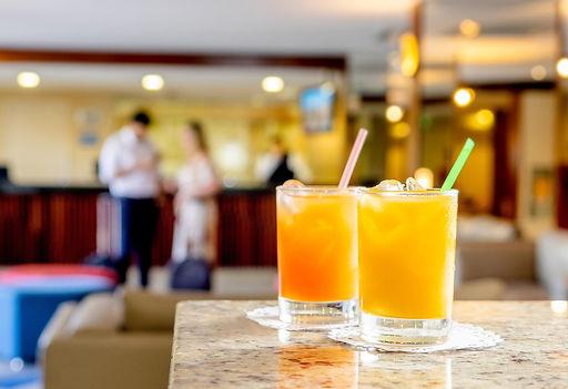 Drink de Boas Vindas Hotel Manibu Recife