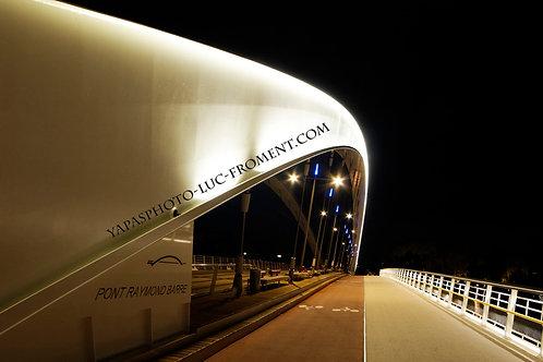 Pont Raymond Barre : 110 cms par 67 cms