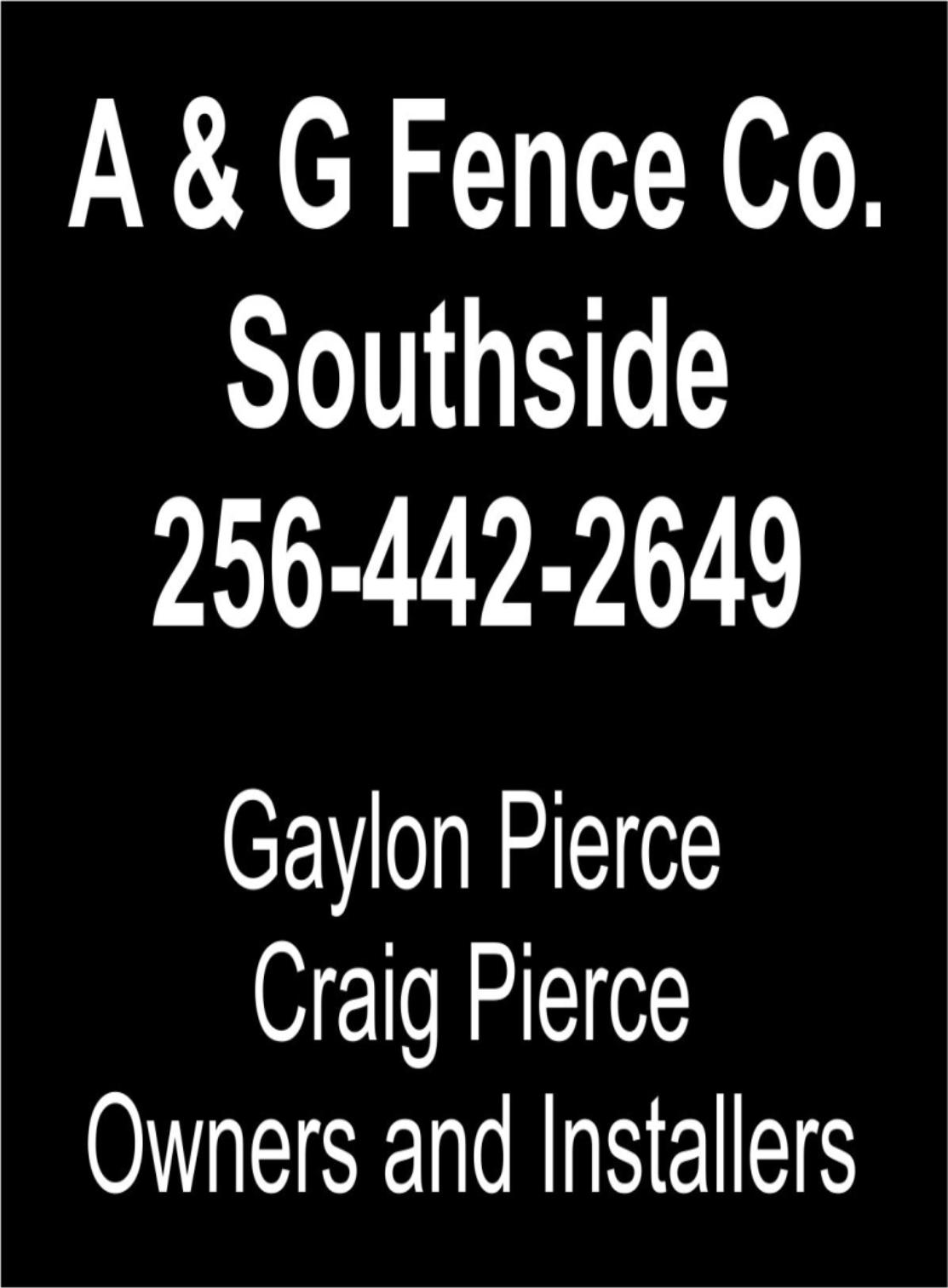 a&G fence