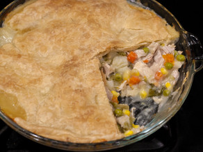 Nourishing Comfort Food = Chicken Pot Pie