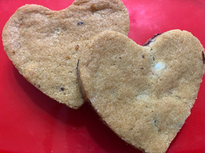 Spreading the love: Toll House Cookie Pan Hearts