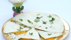 Brie & Mango Quesadillas!