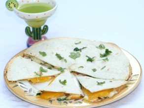 Brie & Mango Quesadillas!