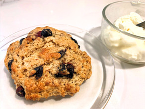 Simple Blueberry Scones from Scratch