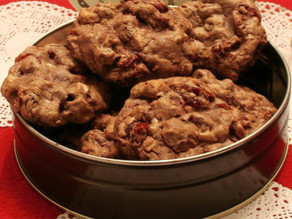 Holiday Baking: Cranberry Cordial Cookies - Treats for the Adults in your life