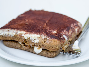 Tiramisù - none for me...all for you!