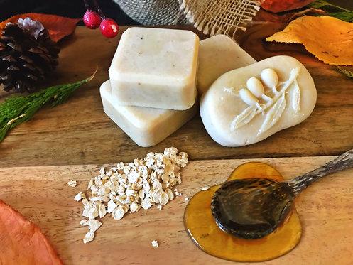mini oatmeal soap