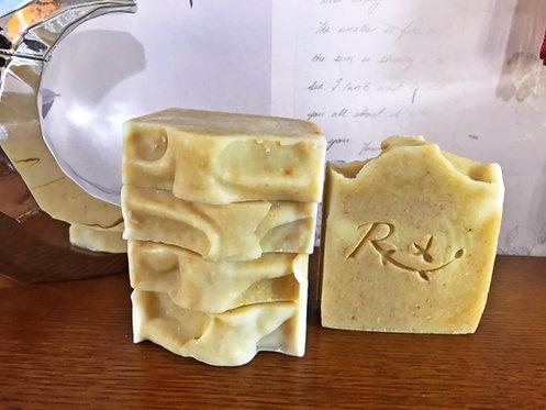 Lemon Sunshine Soap- Scrub bar