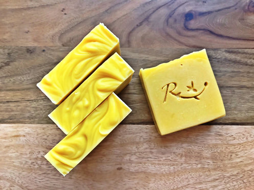 Creamy Carrot Soap- Gentle & Nourishing