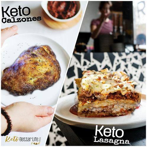 Keto Lasagnas & Calzone Packs