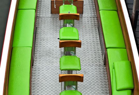bateau-vert--photographie-mural-decoration-laura-lago