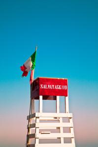 italie-plage--photographie-mural-decoration-laura-lago
