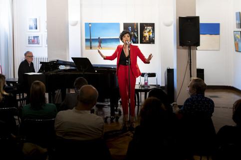 Exposition d'art et Concert à la Maison de l'Argentine, Paris XIV. DEUX, Lago- Zurzolo.