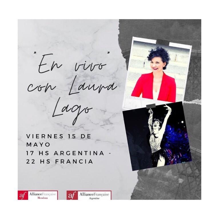 Instagram Live- Reportage avec l'Alliance Française d'Argentine