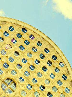 rue-jaune-ciel-photographie-mural-decoration-laura-lago