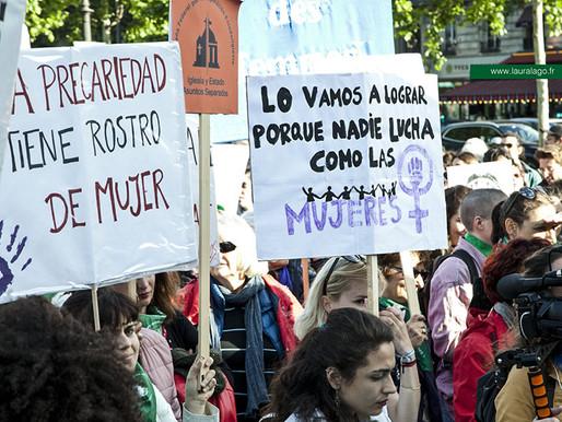 Un vote historique pour les femmes en Argentine