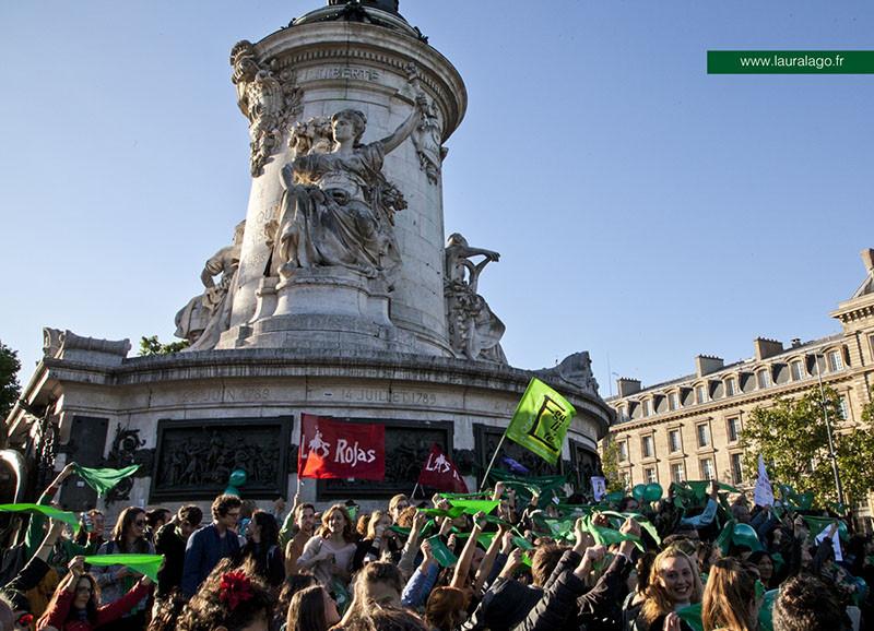 J'ai pris cette photo lors du rassemblement pour le droit à avortement en Argentine