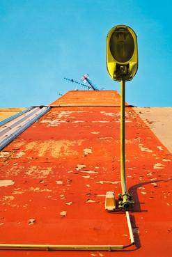 lampadaire-orange-photographie-mural-decoration-laura-lago