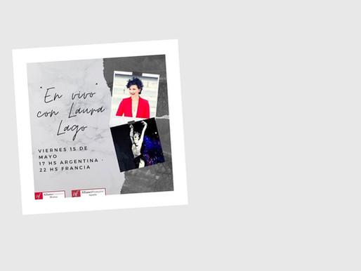 Instagram Live avec l'Alliance Française