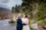 Bride & Groom Portraits | Colorado Wedding Photography | Wild Basin Lodge | Nat Moore Photography