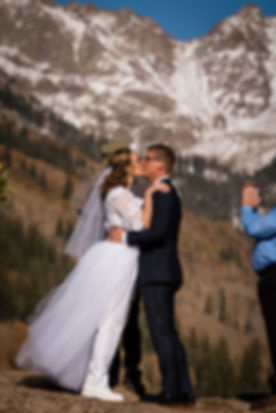 Upper Piney Lake Elopement in Vail, Colorado
