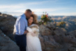 Boulder, Colorado Elopement Ceremony in the Mountains